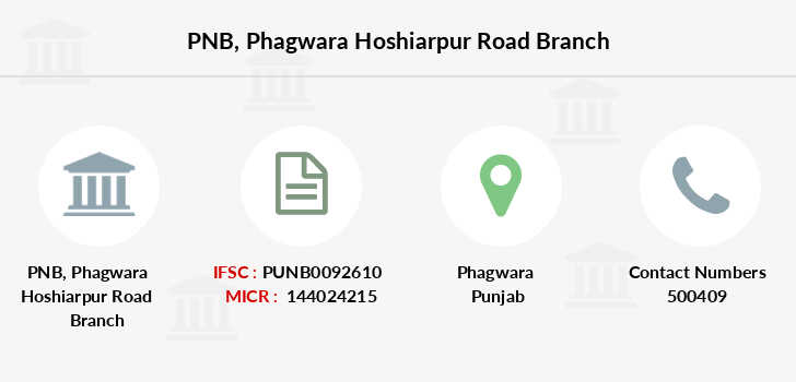 Punjab-national-bank Phagwara-hoshiarpur-road branch