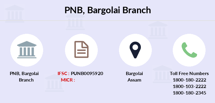 Punjab-national-bank Bargolai branch