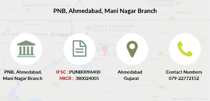Punjab-national-bank Ahmedabad-mani-nagar branch