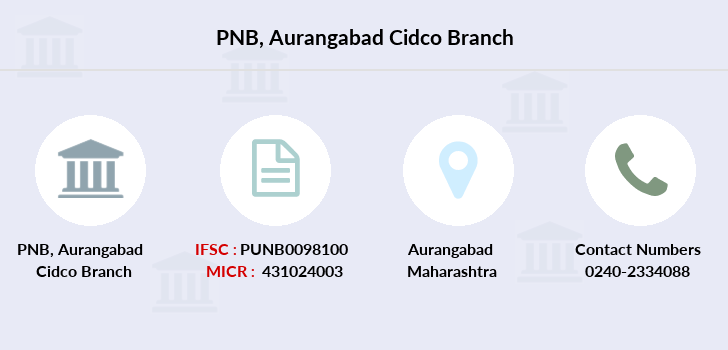 Punjab-national-bank Aurangabad-cidco branch