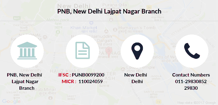 Punjab-national-bank New-delhi-lajpat-nagar branch