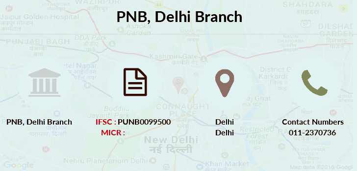 Punjab-national-bank Delhi branch