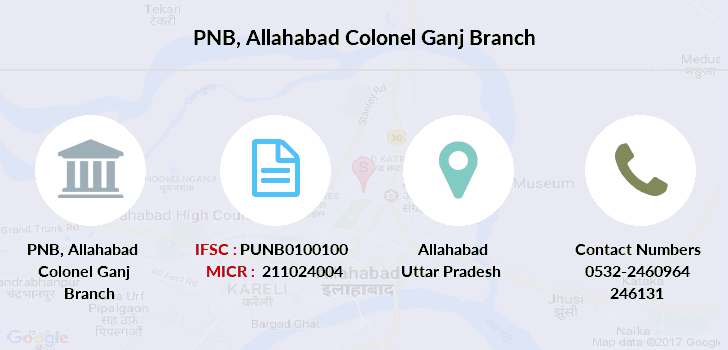 Punjab-national-bank Allahabad-colonel-ganj branch