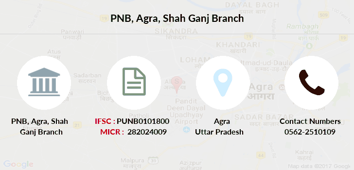 Punjab-national-bank Agra-shah-ganj branch