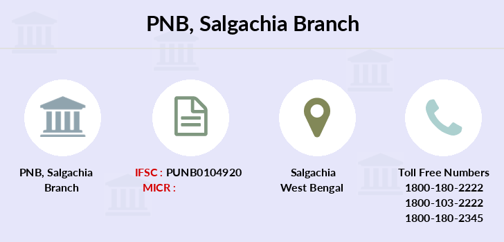 Punjab-national-bank Salgachia branch