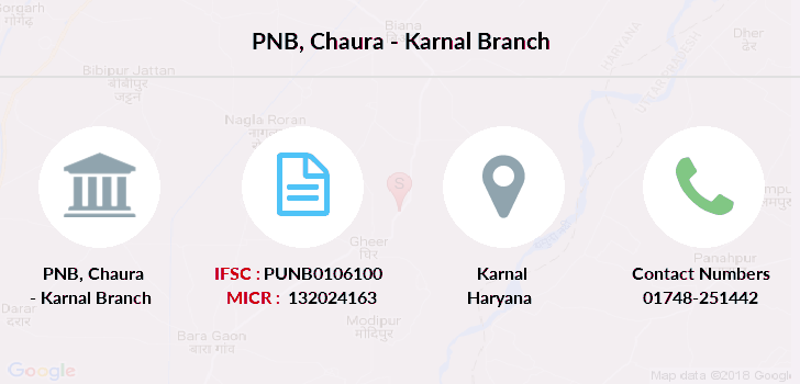 Punjab-national-bank Chaura-karnal branch