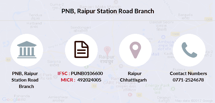 Punjab-national-bank Raipur-station-road branch