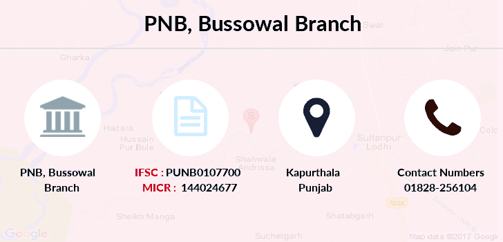 Punjab-national-bank Bussowal branch