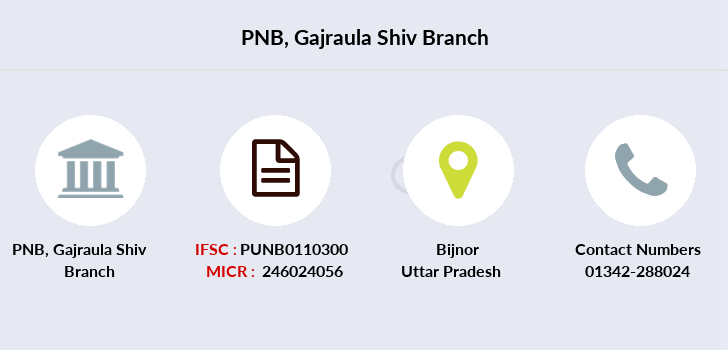 Punjab-national-bank Gajraula-shiv branch