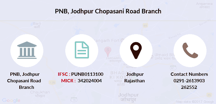 Punjab-national-bank Jodhpur-chopasani-road branch