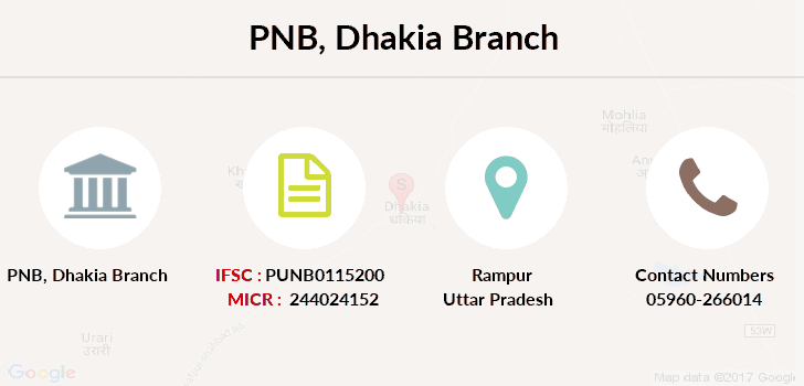 Punjab-national-bank Dhakia branch