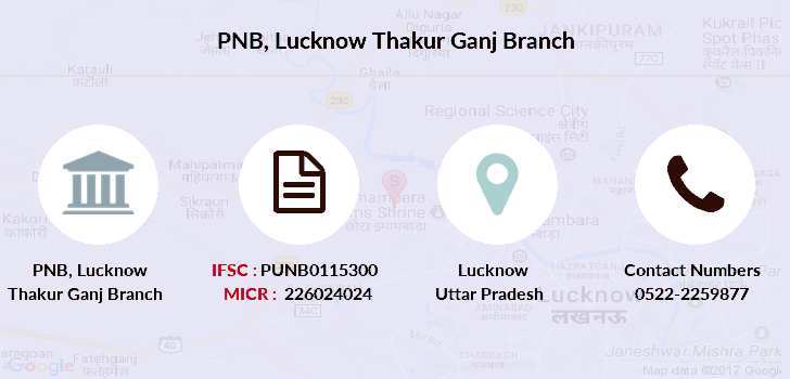 Punjab-national-bank Lucknow-thakur-ganj branch