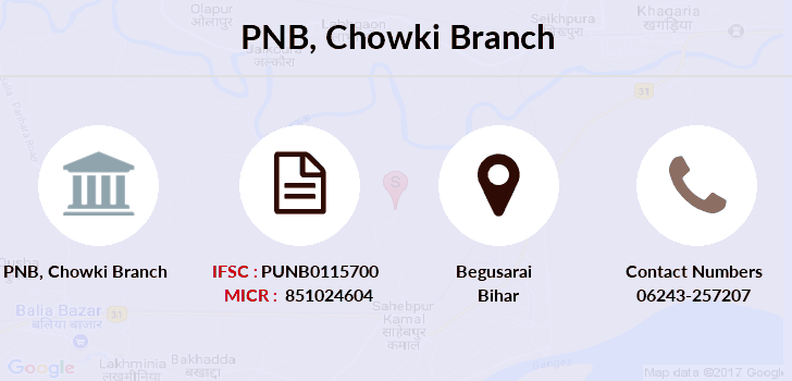 Punjab-national-bank Chowki branch