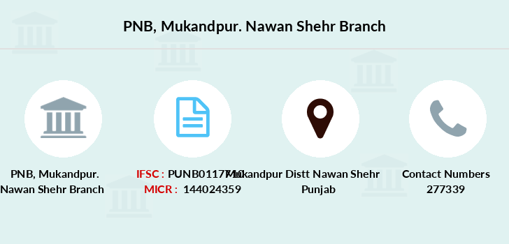 Punjab-national-bank Mukandpur-nawan-shehr branch