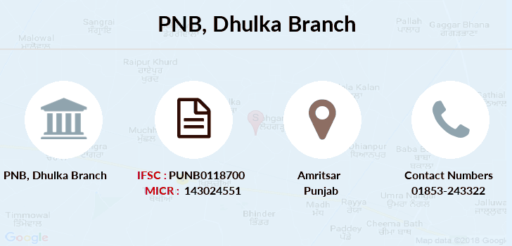 Punjab-national-bank Dhulka branch