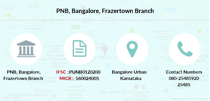 Punjab-national-bank Bangalore-frazertown branch