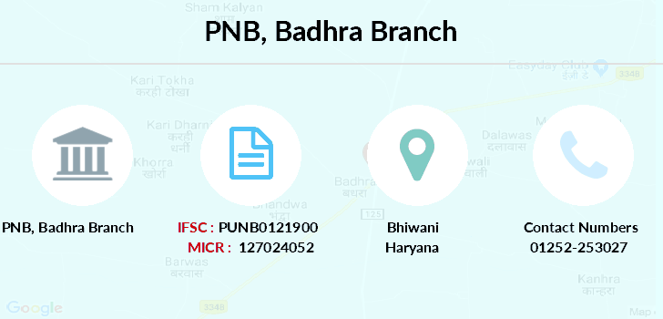 Punjab-national-bank Badhra branch