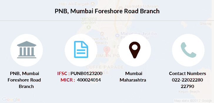 Punjab-national-bank Mumbai-foreshore-road branch