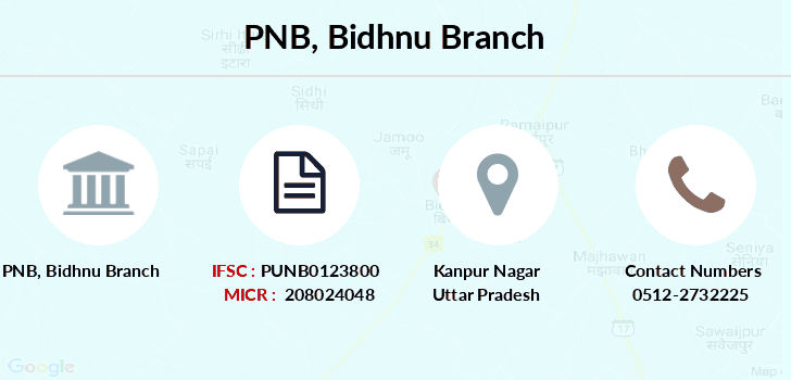 Punjab-national-bank Bidhnu branch