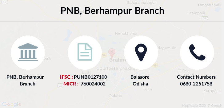 Punjab-national-bank Berhampur branch