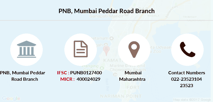 Punjab-national-bank Mumbai-peddar-road branch