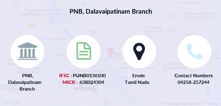 Punjab-national-bank Dalavaipatinam branch