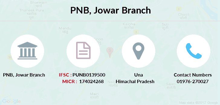 Punjab-national-bank Jowar branch