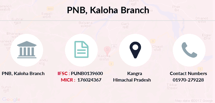 Punjab-national-bank Kaloha branch