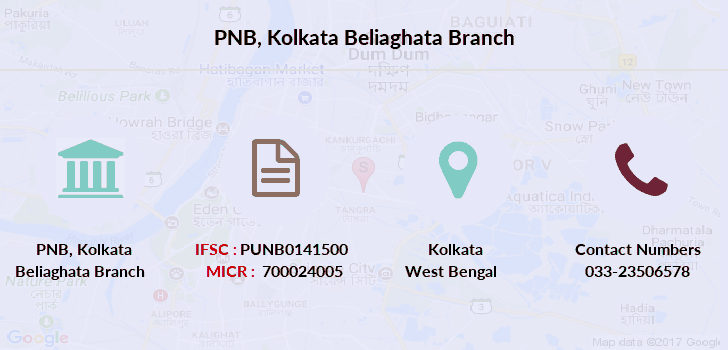 Punjab-national-bank Kolkata-beliaghata branch