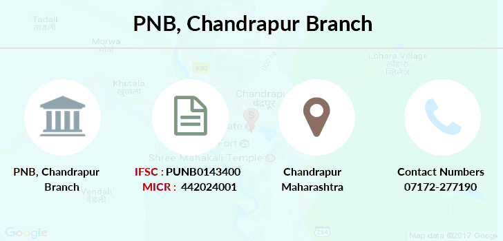 Punjab-national-bank Chandrapur branch