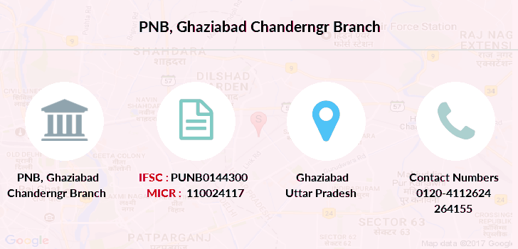Punjab-national-bank Ghaziabad-chanderngr branch