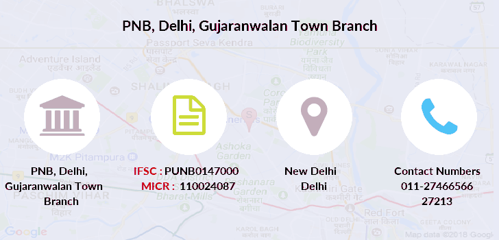 Punjab-national-bank Delhi-gujaranwalan-town branch