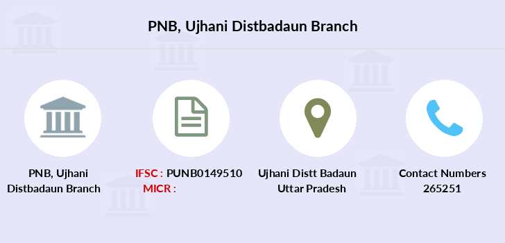 Punjab-national-bank Ujhani-distbadaun branch
