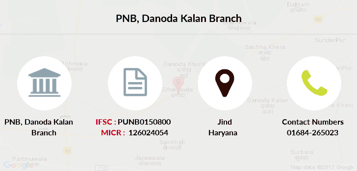 Punjab-national-bank Danoda-kalan branch