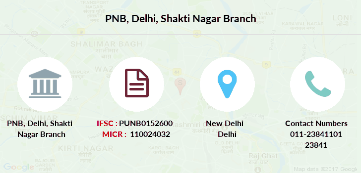 Punjab-national-bank Delhi-shakti-nagar branch