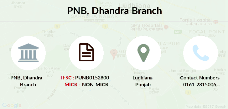 Punjab-national-bank Dhandra branch
