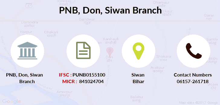 Punjab-national-bank Don-siwan branch