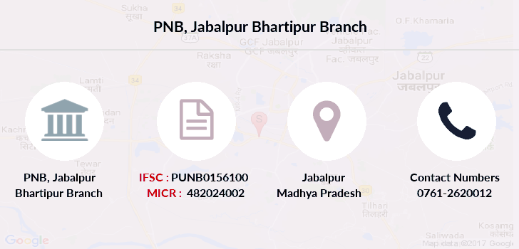 Punjab-national-bank Jabalpur-bhartipur branch