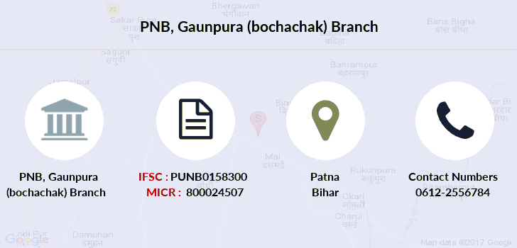 Punjab-national-bank Gaunpura-bochachak branch