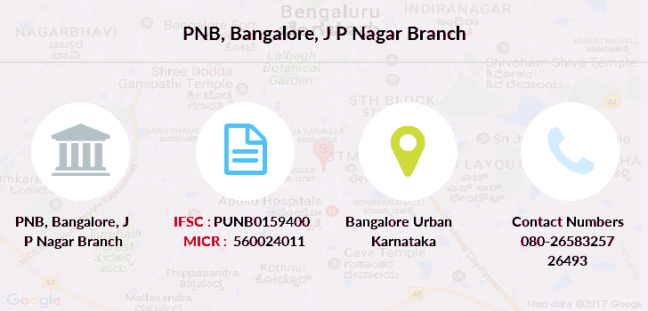 Punjab-national-bank Bangalore-j-p-nagar branch