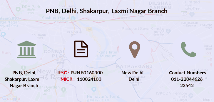 Punjab-national-bank Delhi-shakarpur-laxmi-nagar branch