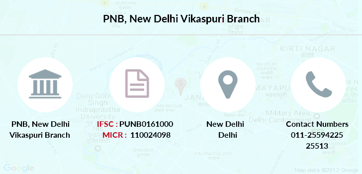 Punjab-national-bank New-delhi-vikaspuri branch
