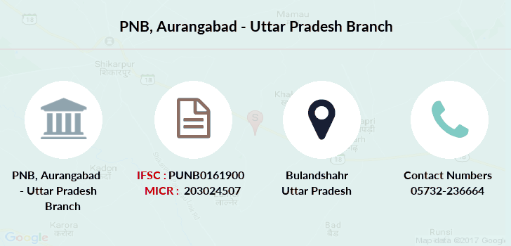 Punjab-national-bank Aurangabad-uttar-pradesh branch