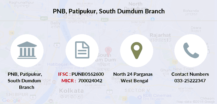 Punjab-national-bank Patipukur-south-dumdum branch