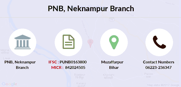 Punjab-national-bank Neknampur branch