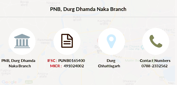 Punjab-national-bank Durg-dhamda-naka branch