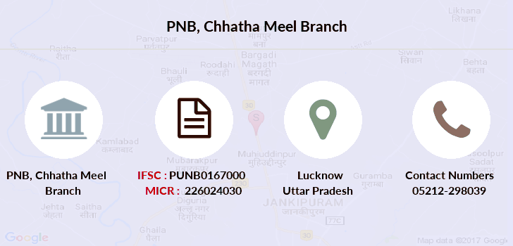 Punjab-national-bank Chhatha-meel branch