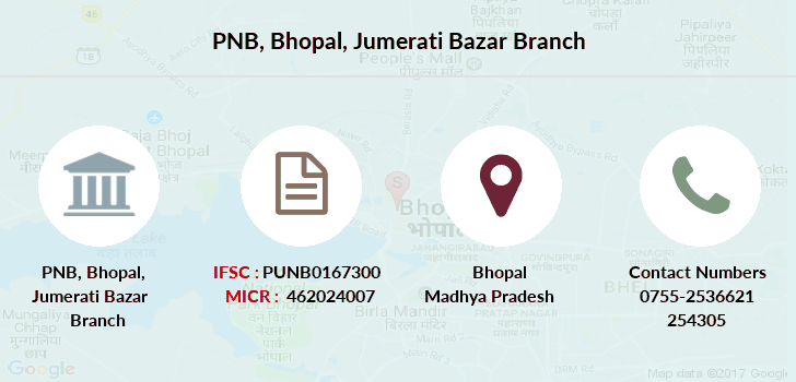 Punjab-national-bank Bhopal-jumerati-bazar branch