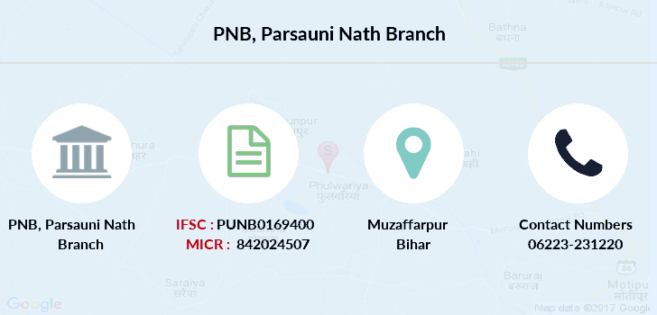 Punjab-national-bank Parsauni-nath branch