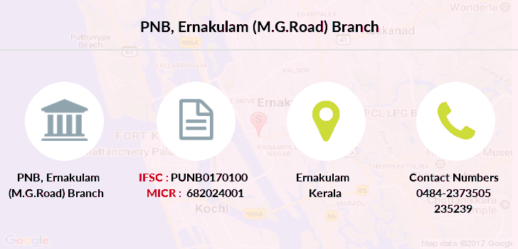 Punjab-national-bank Ernakulam-m-g-road branch
